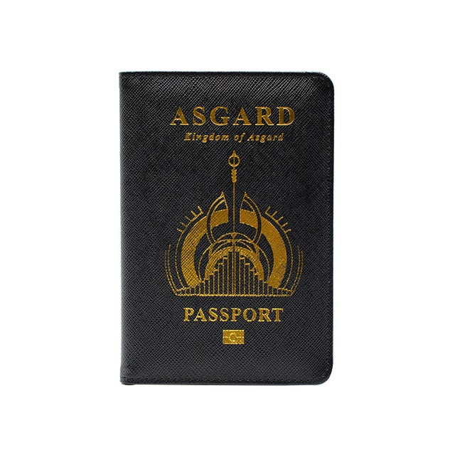 Wakanda Travel Passport (Black Panther & Thor)