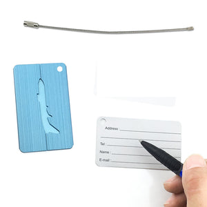 Cute Luggage Tag Aluminum