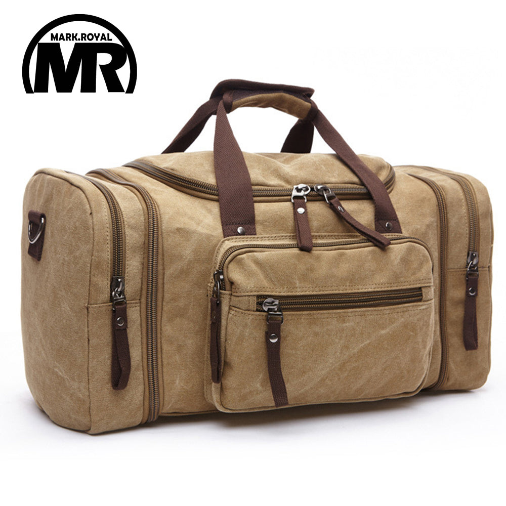Carry On Soft Canvas Travel Bag