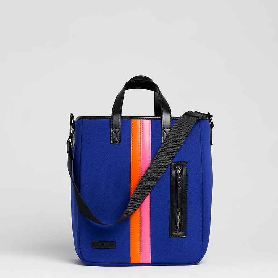 women's lunch tote bag by Qontevo blue