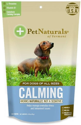 Pet Naturals of Vermont Calming Dog Chews