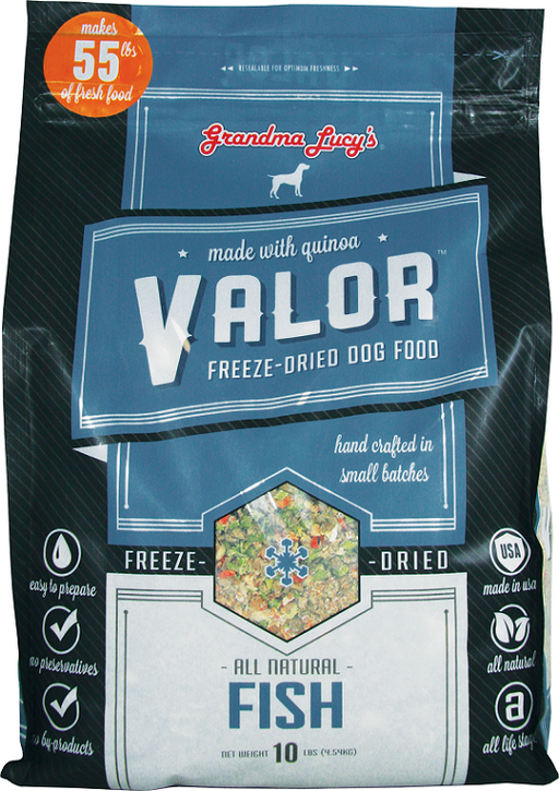 Grandma Lucy's Valor Fish and Quinoa Freeze Dried Dog Food
