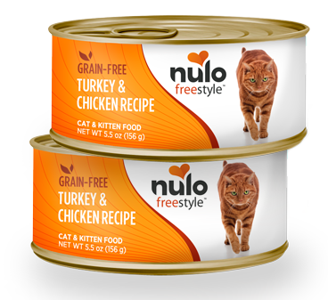 Nulo FreeStyle Grain Free Turkey and Chicken Recipe Canned Kitten and Cat Food