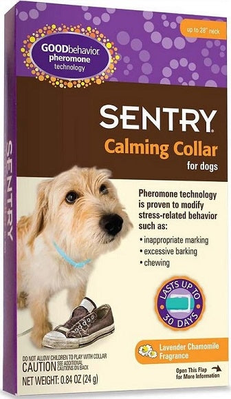 Sentry Good Behavior Pheromone Calming Collar for Dogs