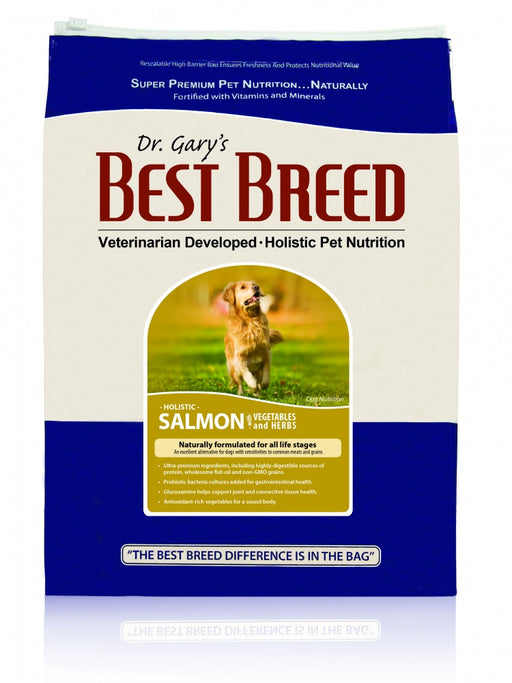 Dr. Gary's Best Breed Holistic Salmon with Vegetables & Herbs Dry Dog Food
