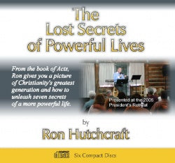 THE LOST SECRETS OF POWERFUL LIVES 6 CD SET