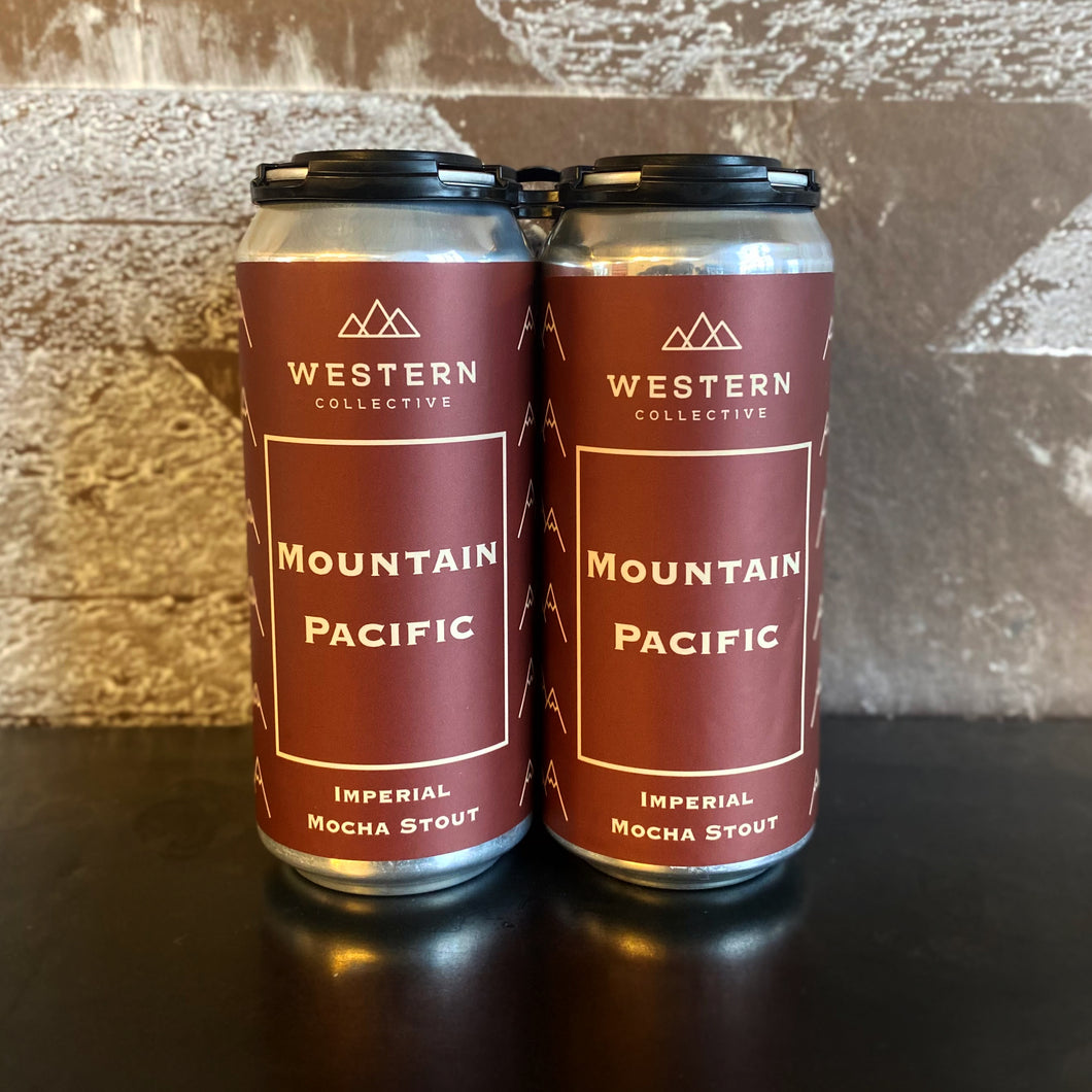 Mountain Pacific Imperial Mocha Stout- 4 Pack ToGo