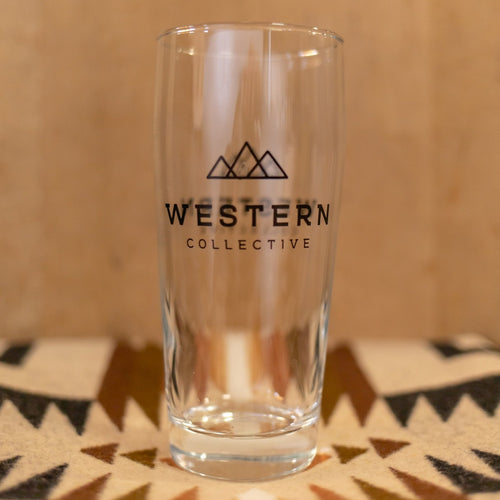 Western Collective Pint Glass - Set of Two