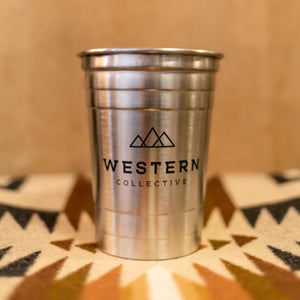 Western Collective Stainless Steel Beer Cup - set of 2 ToGo