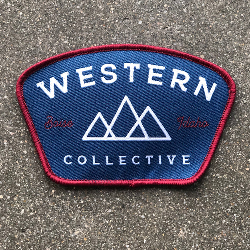Western Collective Logo Patch