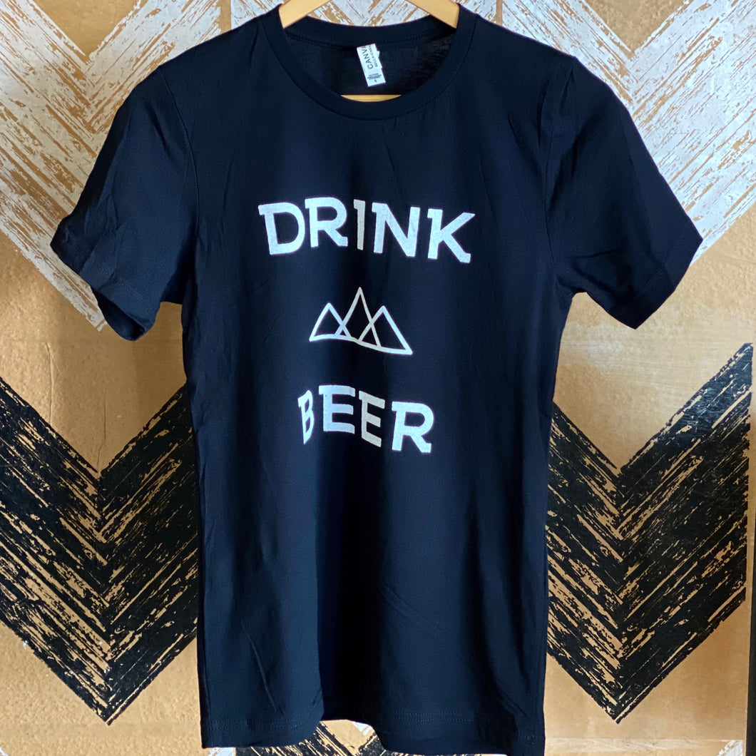 Drink Beer T-Shirt - Black