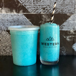 Blue Crush Slush 32oz ToGo Container