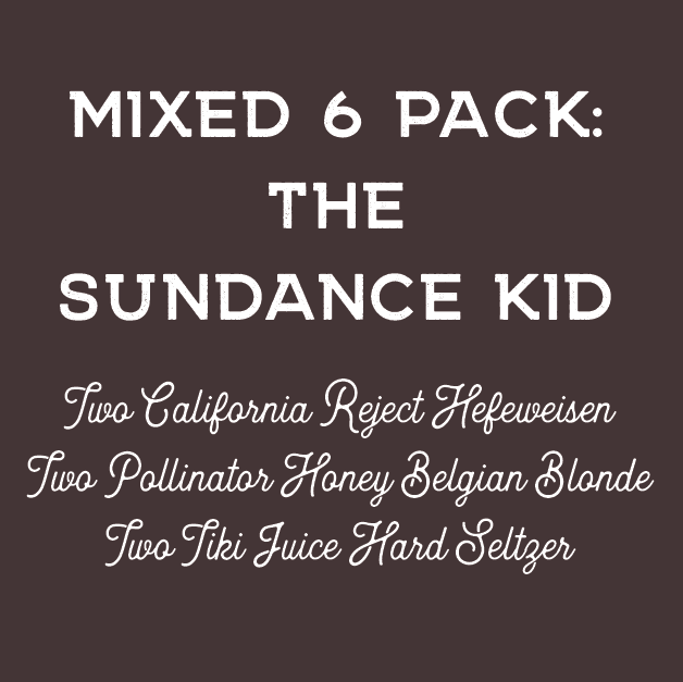 The Sundance Kid - Mixed 6 Pack ToGo