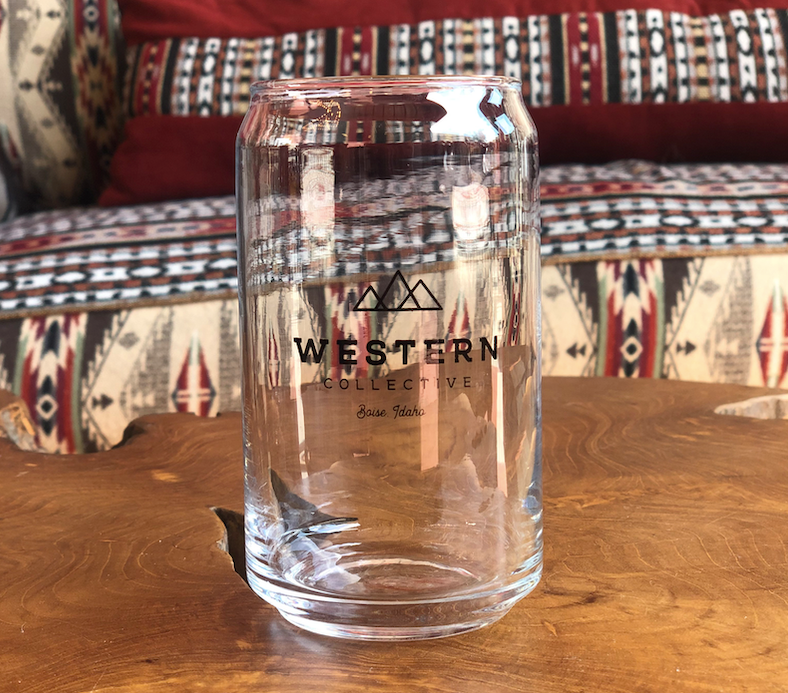 Western Collective Can Glass