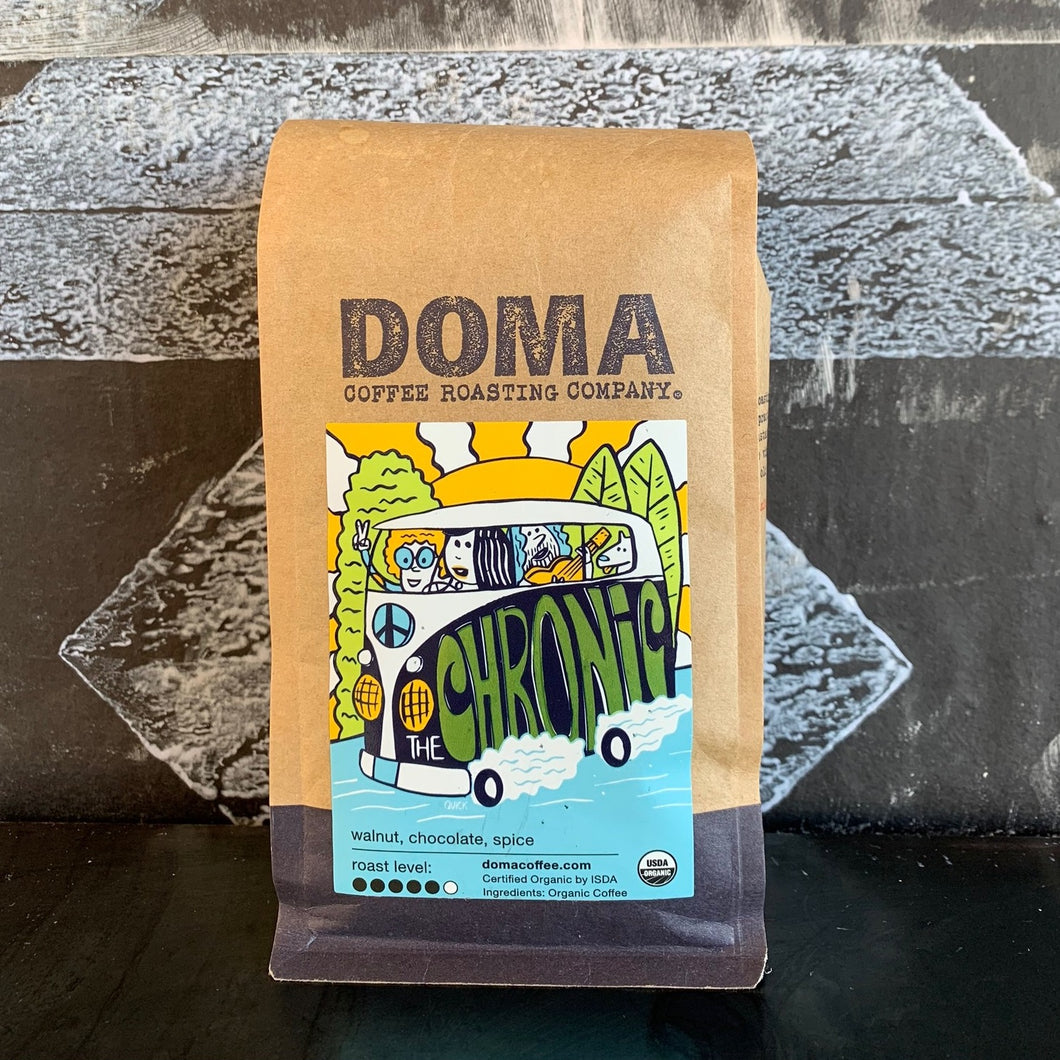 Doma Chronic Beans - 12 Oz Coffee Beans ToGo