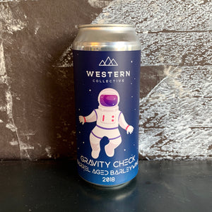 Barrel Aged Gravity Check Barleywine - Single Beer ToGo