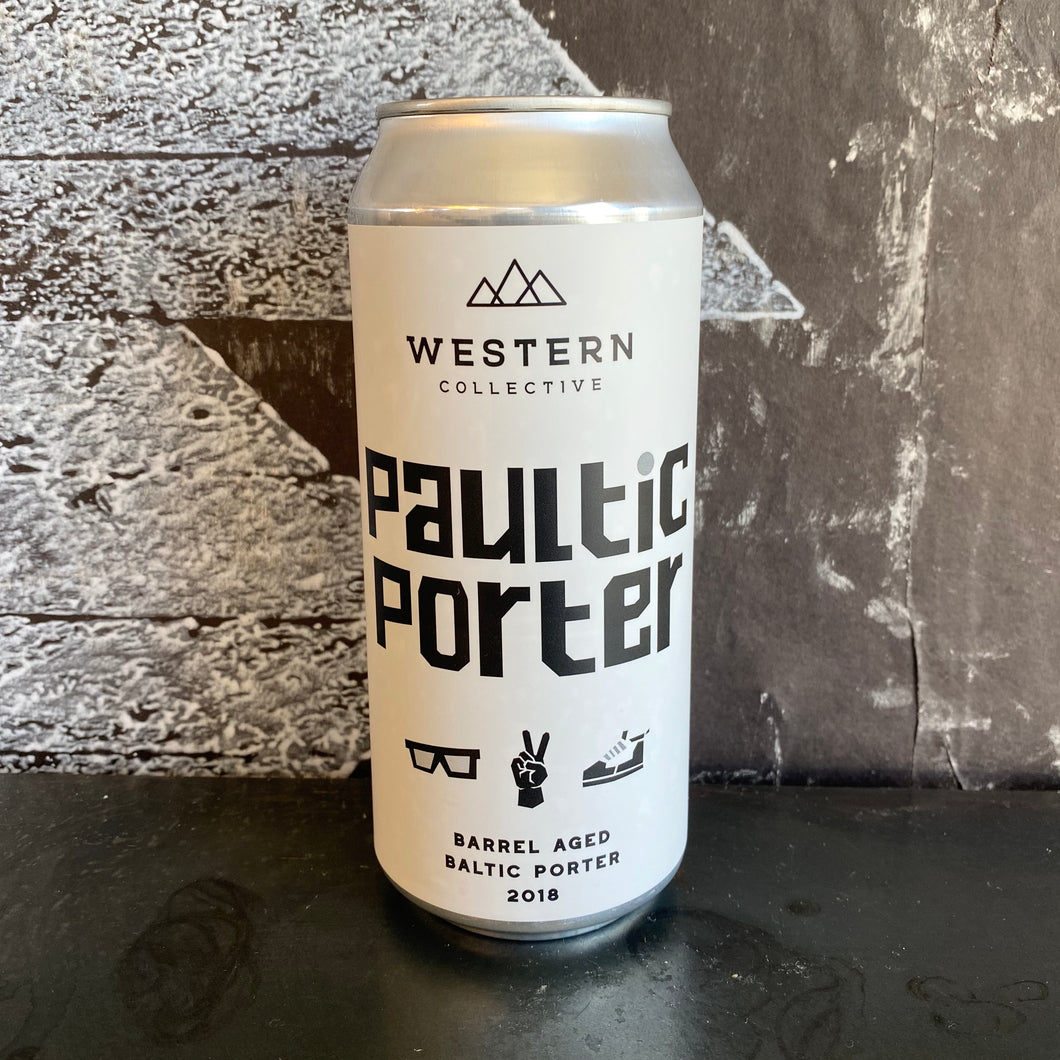 Barrel Aged Paultic Porter - Single Beer ToGo