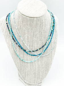 Solid Gemstone Necklace