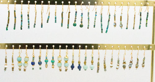 Winter Blue Earring Collection