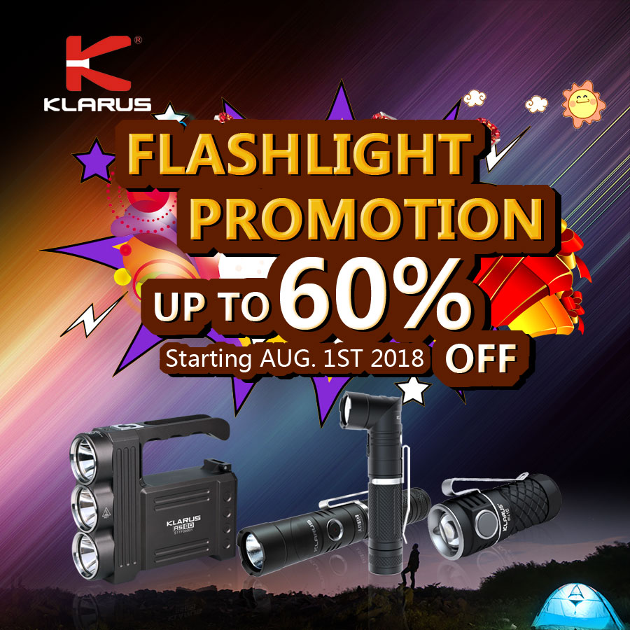 LED Flashlights UP TO 60% OFF