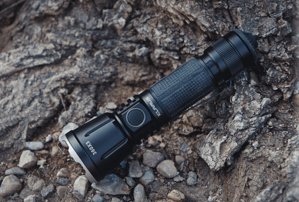 KLARUS 360X3 Dual Switch Tactical Rechargeable LED Flashlight