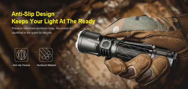 21700 Extreme Output Tactical Flashlight Klarus XT21X