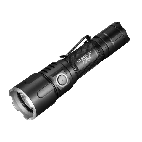 Klarus XT11S LED Rechargeable Tactical Flashlight, 1100lumens, 260h Runtime, Side + Tail Dual Switch