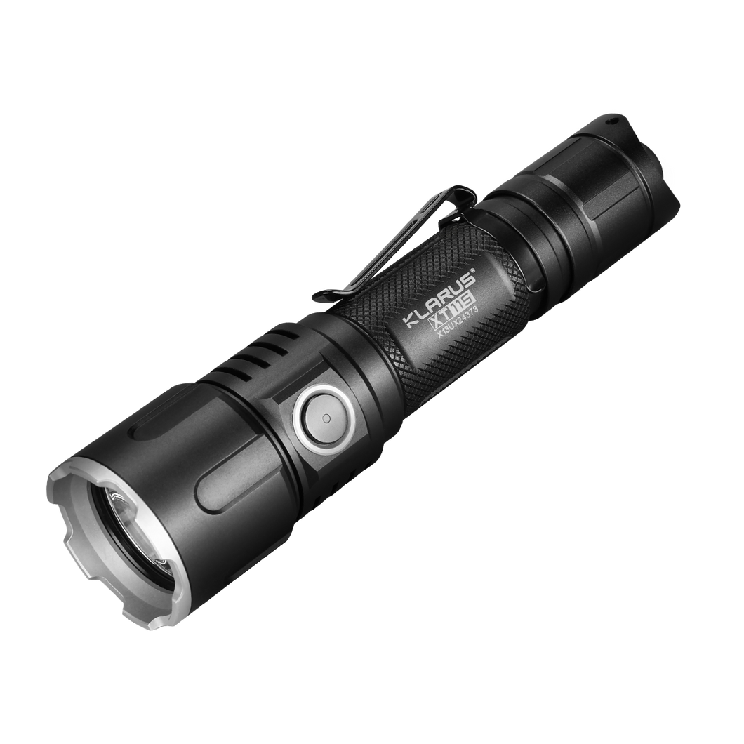 Klarus XT11S USB Rechargeable LED Torch Light for Daily Use, 1100lumens, 260hour Runtime, Side Switch + Tail Dual Switch