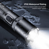 Klarus EP10 Side Tactical Dual Flashlight, 1000LM, Type-C, 18650 Battery, 72h Runtime