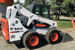 snow pusher for bobcat skid steer