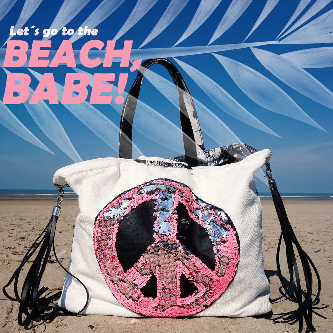 PEACE BAG ☮ `Beach rocks´