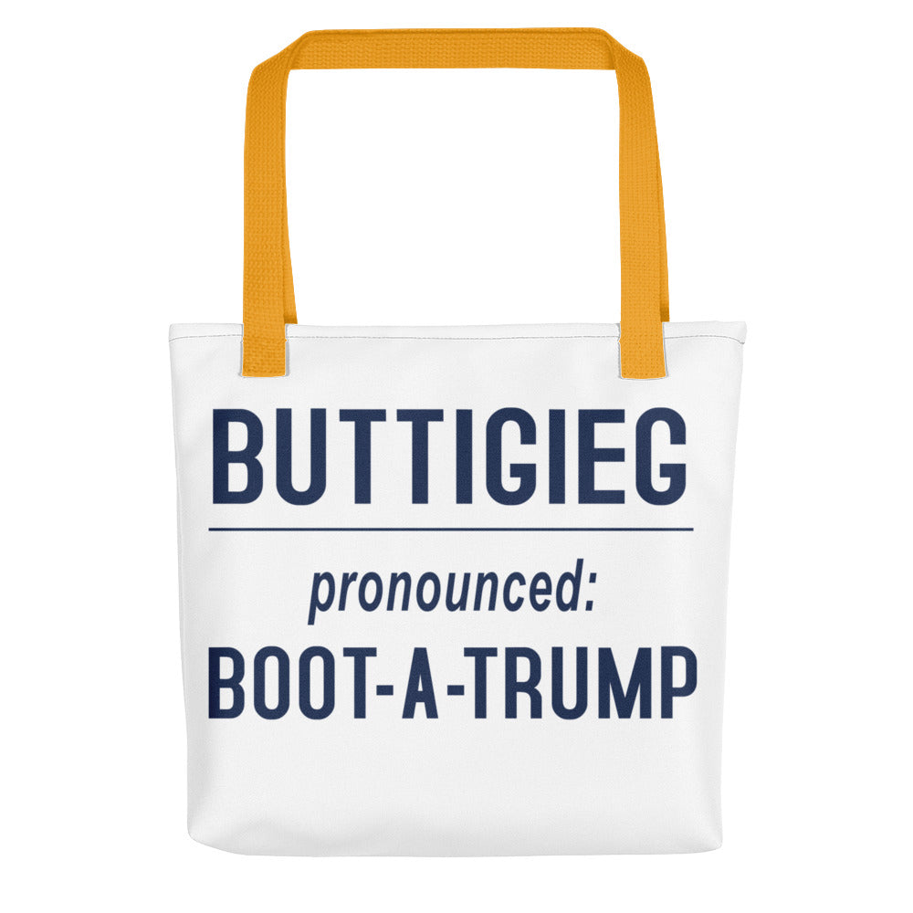 BOOT-A-TRUMP | Large Tote Bag