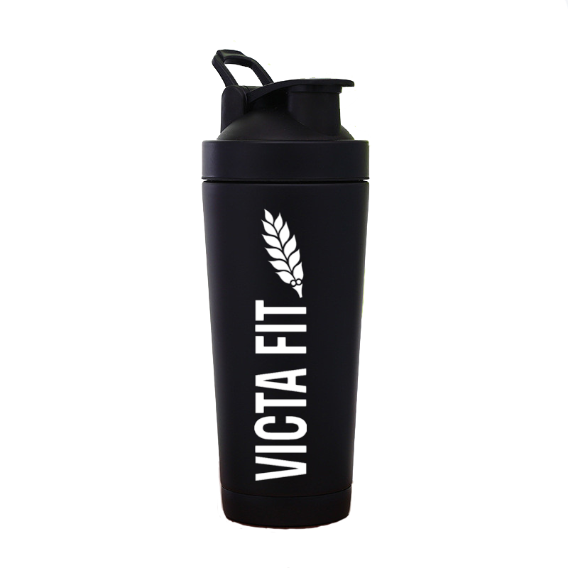 Thermally Insulated Shaker Cup – Black