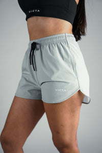 VICTA Women's Performance Training Shorts – Cement