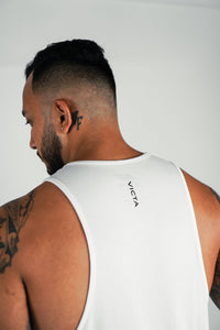 VICTA Performance Cut Off – White