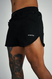 VICTA Performance Training Shorts – Black