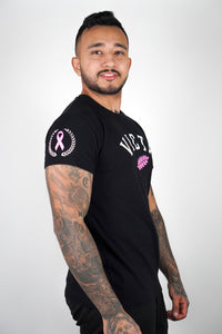 Breast Cancer Tee – Black