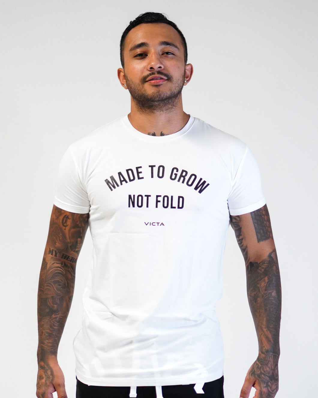 Made To Grow Tee – White