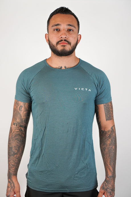 Essential Raglan – Stone Blue
