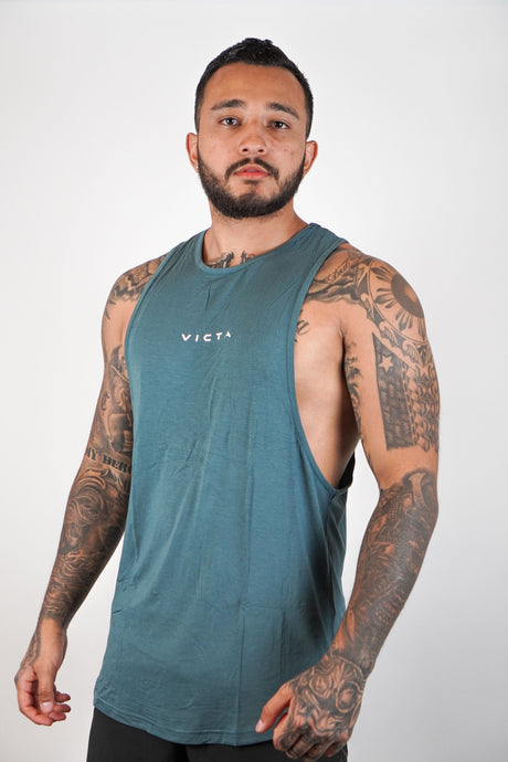 Essential Cut Off – Stone Blue