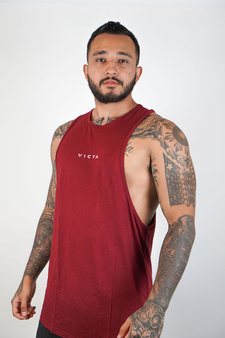 Essential Cut Off – Maroon
