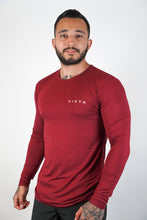 Load image into Gallery viewer, Essential Unisex Long Sleeve – Maroon