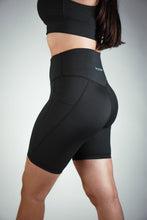 Load image into Gallery viewer, VITAL Biker Shorts – Black