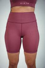 Load image into Gallery viewer, VITAL Biker Shorts – Rosé