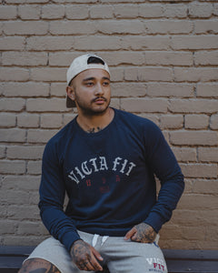 Independent Crewneck – Navy