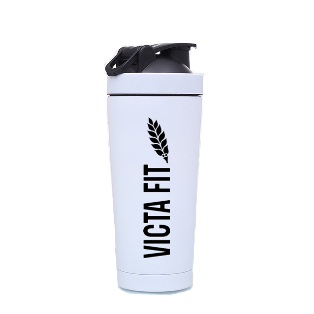 Thermally Insulated Shaker Cup – White