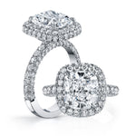 JSM416 - 4.18ct Cushion cut - JSM416