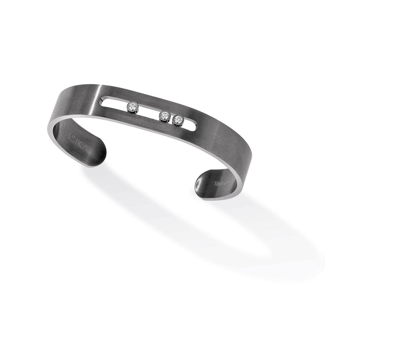 Move Titanium Graphite Bangle