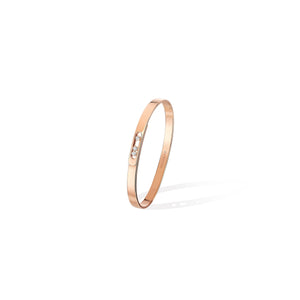 Move Noa Bangle PM - Pink Gold