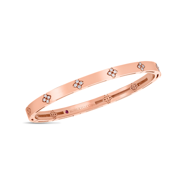 18KPG DIAMOND LOVE IN VERONA BANGLE